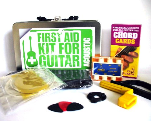 Music Gift Acoustic Guitar Accessory Kit inc Strap Tuner Strings