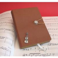Violin tan-coloured Journal Music Teacher Violinist Gift