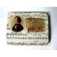 Classical Chopin Cup Mug Coaster Teacher Student Music Gift