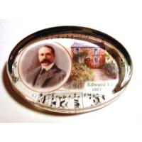 Edward Elgar Composer Desk Paperweight Music Gift Stationery
