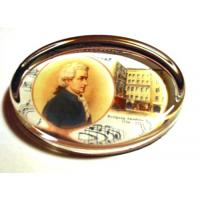 Mozart Classical Composer Paperweight Music  Gift Stationery