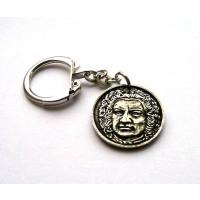 J. S. Bach Pewter Keyring Classical Composer Music Gift