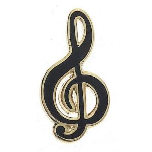 Treble Clef Mini Lapel Pin Badge Collectible Music Gift