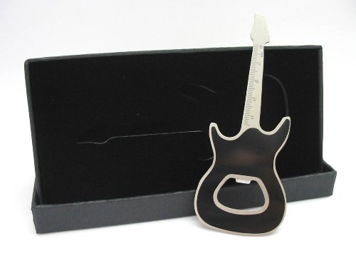 Electric Guitar Bottle Opener Boxed Teacher Student Music Gift