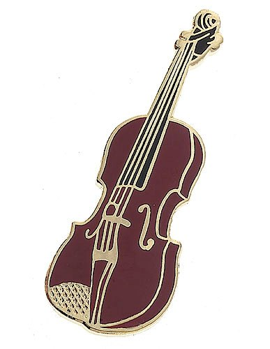 Violin Pin Badge Musician Collectable Music Gift