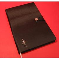 Ballerina A5 Black Journal Ballet Teacher Gift
