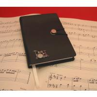 Drum Kit Black A6 Journal Notebook Music Teacher Gift