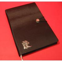 Cowboy Boots and Hat A5 Black Journal Country and Western Gift