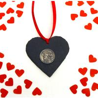 Wagner Design Slate Heart Xmas Wedding Valentine Gift