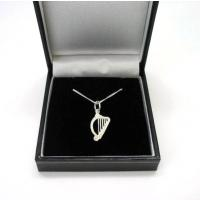 Concert Harp Silver Necklace Ladies Jewellery Music Gift