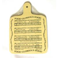 Food Glorious Food Chopping Board Kitchen Music Gift