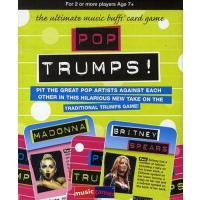Pop Trumps Music Card Game Family Quiz Pop Rock Music Gift