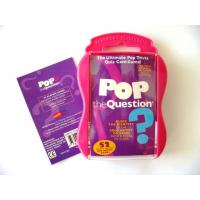 Pocket Pop the Question Music Quiz Game Pop Rock Music Gift