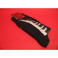 Piano Keyboard Design Men's Cotton Socks Classic Music Gift