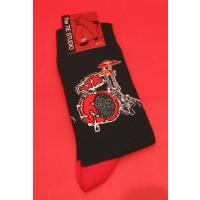 Drum Kit Cotton Socks Men's One Size Rock Pop Music Gift