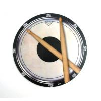Drums Pad Round Mouse Mat Percussion Musician Music Gift