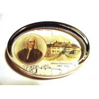 J. S. Bach Classical Composer Paperweight Music Gift Stationery