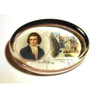 Beethoven Classical Composer Paperweight Music Gift Stationery