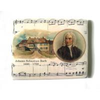 Classical Music Gift Mouse Mat with J. S. Bach Musical design
