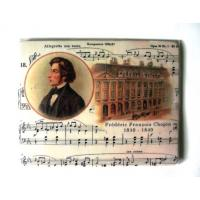 Music Gift Chopin Composer Mouse Mat Computer Office Accessory
