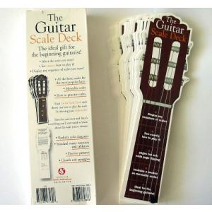Music Guide & Guitarist Tuition Gift Book The Guitar Scale Deck